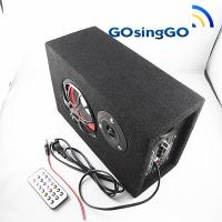 Quality Square MP3 FM radio amplifier subwoofer wholesale