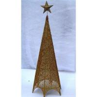 China Wire christmas tree decoration on sale