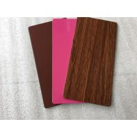 Quality PVDF Paint Aluminum Insulated Sandwich Panels , Exterior Building Cladding Panels wholesale