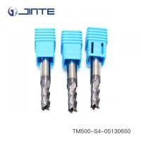 Quality OEM TiAlN Coated 55HRC Solid Carbide End Mill Cutter For Steel Cutting wholesale