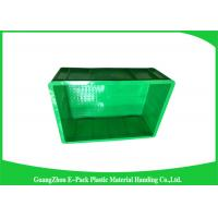 China Industrial Small Plastic Stackable Containers , Plastic Moving Containers on sale