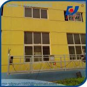 Quality 6m Suspended Working Platform  630KG  Construction Rope Suspended Platform wholesale