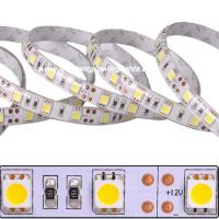 Quality flexible LED light strip with High Power 5050SMD 60leds/m 12VDC operation can be cut into 3-LED segments wholesale