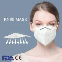 China CE FDA cetificate Medical Non Woven Fabric Disposable Face Mask KN95 Mask  anti virus, 10/bag on sale