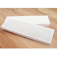 China Grill 183 * 60 MM Diamond Pattern Cordierite Gas Infrared Honeycomb Ceramic Plaques on sale