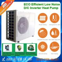 China Air to Water Cooling Heating High COP Heat Pump with Dual rotary DC Inverter Compressor on sale