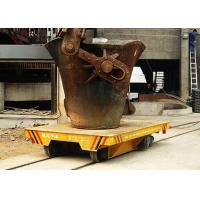 China Hot steel metal slag pot truck on steel track with heat-resisting function on sale