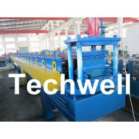 Quality Top Hat Channel Cold Roll Forming Machine for Steel Furring Channel Profiles wholesale