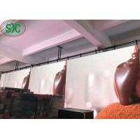 China High Definition RGB SMD LED Screen Indoor P5  With Iron / Steel Super Thin Cabinet on sale