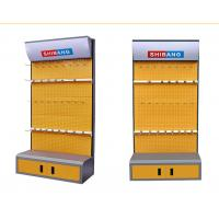 Quality Disassemble Supermarket Display Shelving Metal Tool Rack With Convenient Cabinet wholesale