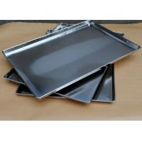 Quality Full Size Stainless Steel Baking Pans For Oven , Kitchen Service Food Trays wholesale