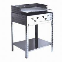 Quality Stainless Steel Barbecue Charcoal BBQ Grill, Measuring 622 x 508 x 250mm wholesale
