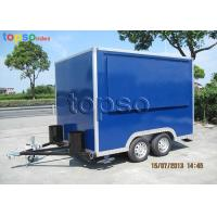 Quality Fast Mobile Food Trailer Heavy Duty Square Mobile Catering Trailer wholesale