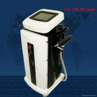 Quality High Tech 3 In 1 IPL RF Laser Machine For Removing Hair / Acne Scarring Treatment wholesale