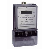 China Long Terminal Single Phase Electric Meter BS Mounting Digital Watt Hour Meter on sale