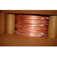 1/4 Inch T2 Split Air Conditioner Copper Pipe Seamless Oiled , Round