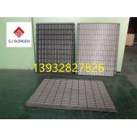 China Replacement Rock Shaker Screen Vibration Screen Mesh Swaco Mongoose Shale Shaker Screen Size 585*1165mm on sale
