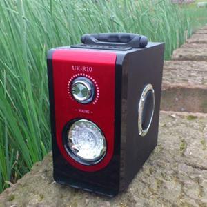 China Potentiometer Black Sound Box, Plastic Digital FM Radio Remote Control (UK-R10) on sale