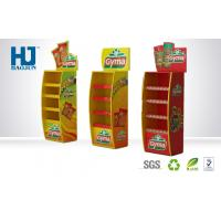 Hot Sale Customized 4 Floors Corrugated Cardboard Pallet Display Stand for Food