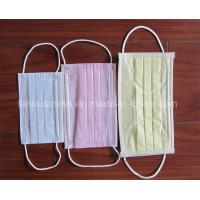 Quality Disposable 3 Ply Non-Woven Medical Face Mask wholesale