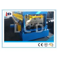 China Floor Decking Sheet Metal Forming Machine PLC Control 9 Ton New Condition on sale