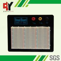 Quality Black Plate ABS Plastic Prototyping Breadboard With Color Printed wholesale