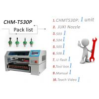 Quality High Speed SMT Pick and Place Machine With Pneumatic Feeder Vision System wholesale