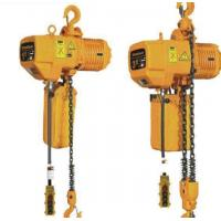 Quality 3 Ton 8m Hook Electric Chain Hoists 50Hz 380V 3P For Heavy Duty Industry wholesale