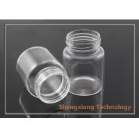 Quality 30ml Empty Borosilicate Glass Bottle for Snacks / Glass Medicine Bottles wholesale