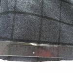 Quality Eco - Friendly Wool Plaid Fabric / Tartan Upholstery Fabric Soft Hand Feeling wholesale