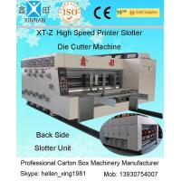 Quality 380V Stable Carton Packing Machine With Die Cutter / Corrugated Case Flexo Printer wholesale