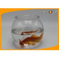 Quality Pet Products 2800ml/93OZ Plastic Fish Bowl Aquarium Tank Mini Elegant Table Accessories wholesale