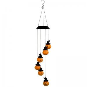 Quality 80cm Length 12.5cm Width Outdoor Wind Chimes , Halloween Wind Chimes For Courtyard wholesale