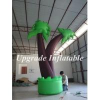 Quality best selling outdoor party decoration inflatable palm tree replica for advertising wholesale