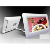 Quality 1080p HD Electronic Picture Display, Calendar Function Electrical Photo Frame wholesale