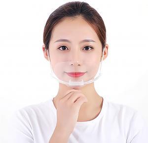 Quality Spittle Prevention Transparent Plastic Face Mask For Dental wholesale