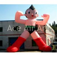 Quality cartoon character replica advertising inflatable astro boy for sale wholesale
