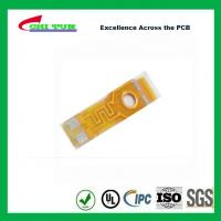 Quality Single Layer PCB Flexible PCB for Motor of Phone Plating Gold 0.5oz Copper wholesale