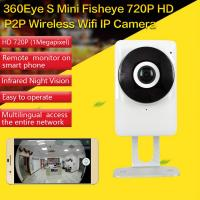 Quality EC1 360Eye S 185degree Panorama Camera iOS/Android APP Night Vision 720P CCTV IP P2P WiFi Wireless Surveillance Security wholesale