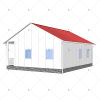 China Heya-2B10-A China 2 room sandwich panel house materials cheap home in Kenya for sale