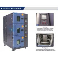 Quality Vehicle Temperature Humidity Test Chamber , 3 Layer Air Cooling Climatic Stability Testing Equipment wholesale