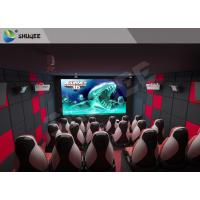 Quality Fun And Exciting Electric 5D Cinema System Solid / Stable Movie Theater Chairs wholesale