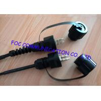 Quality LC multimode fiber optic cable , optical fiber patch cord For Harsh Environment wholesale
