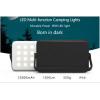 Quality High capacity 16000mAh LED Outdoor Camping Lights With Power Bank ,out door LED lamp wholesale