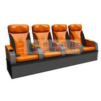 Quality Simulative 4D Theater Seats with hydraulic / pneumatic / Electrical control system wholesale