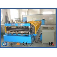 China Low Noise Wall Panel Roll Forming Machine , Metal Roofing Equipment on sale