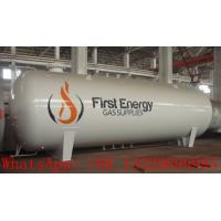 best price 32,000L surface lpg gas storage tank for sale, CLW brand 32m3 bullet type propane gas storage tank for sale