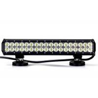 Quality 28 inch 14400 Lumen 180W Cree Double Rows Led Light Bar With Bottom Brackets wholesale