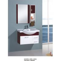 Quality hanging cabinet / PVC bathroom cabinet / wall cabinet / white color for bathroom 80 X49/cm wholesale