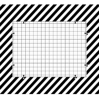Photographic paper material 12mp camera test chart with Iso standard 2000 lines 0.5X (10x17.8 cm)